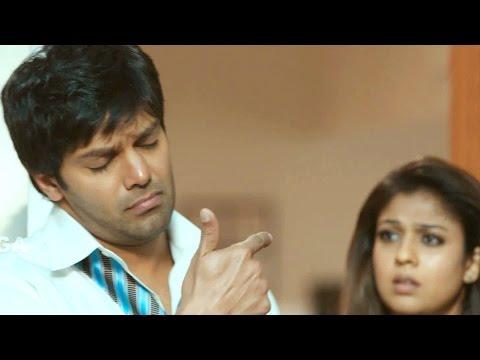 Raja Rani Comedy Scenes - John Coming Late Night Scene - Aarya, Nayanthara