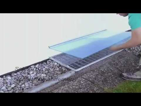 Basement Light Well Cover simple installation - YouTube