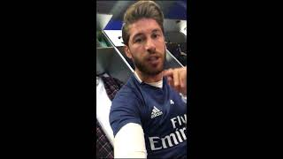 A day in the life of Sergio Ramos! (on Instagram Stories)