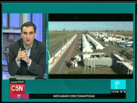 C5N  - AUTOMOVILISMO: TURISMO CARRETERA EN CONCEPCION DEL URUGUGUAY