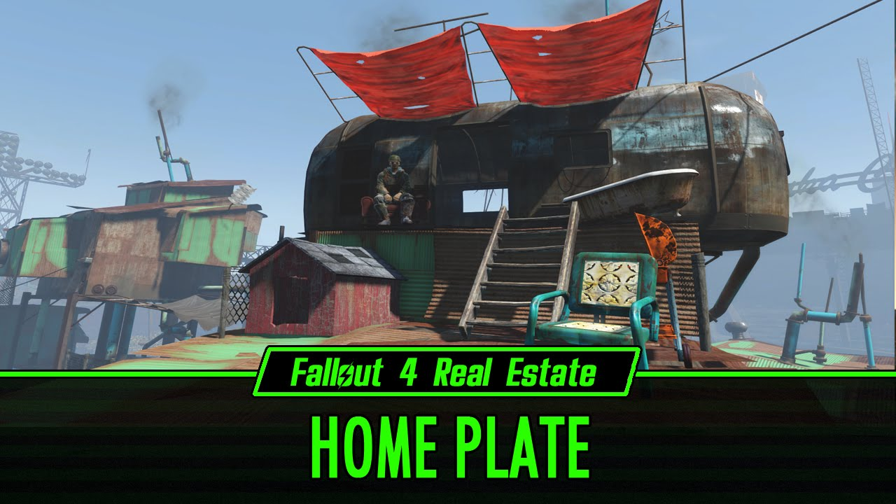 Fallout 4 Real Estate Home Plate Youtube