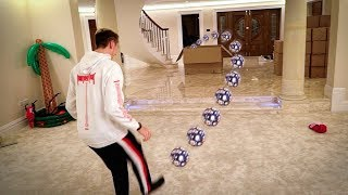 INDOOR FOOTBALL CHALLENGE!