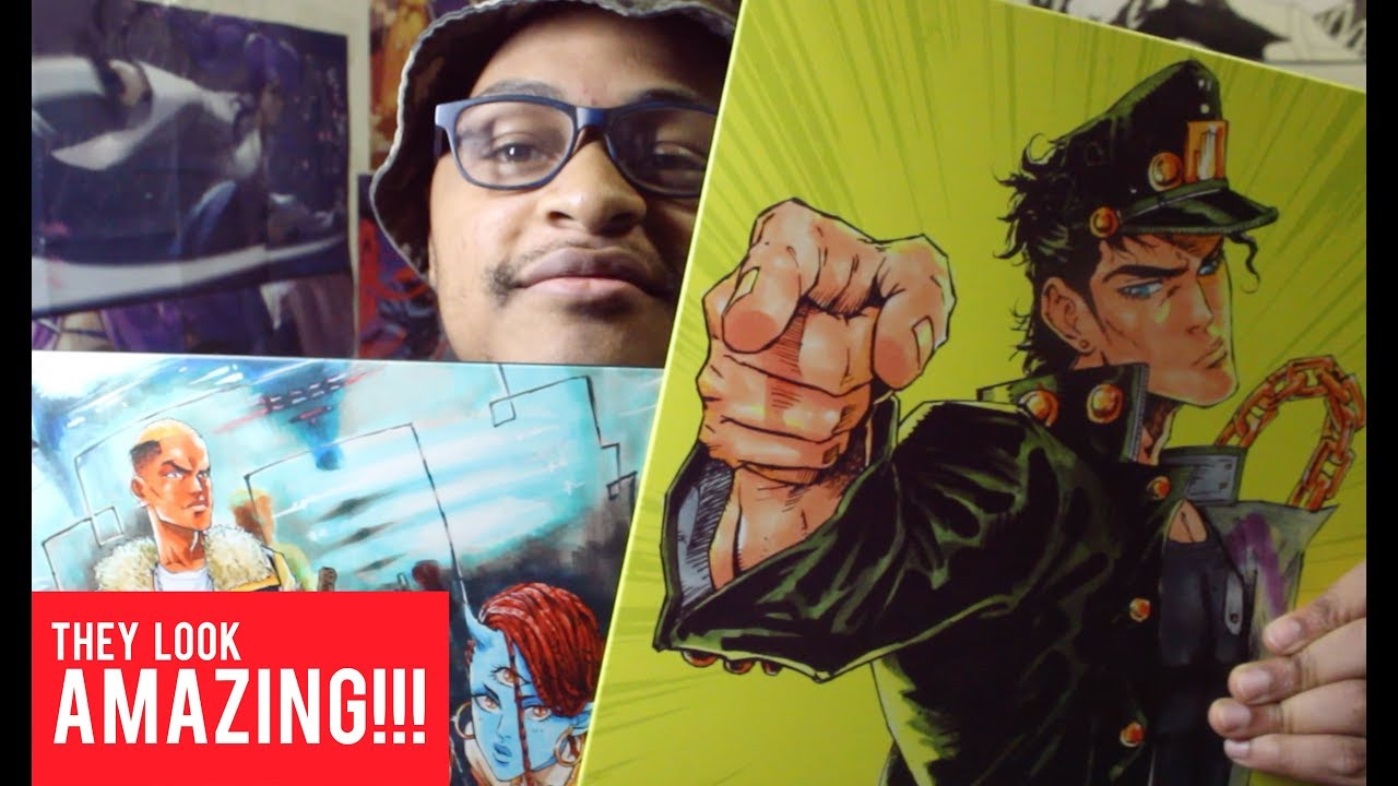 Anime Poster on Metal Print?! | Displate Unboxing Review