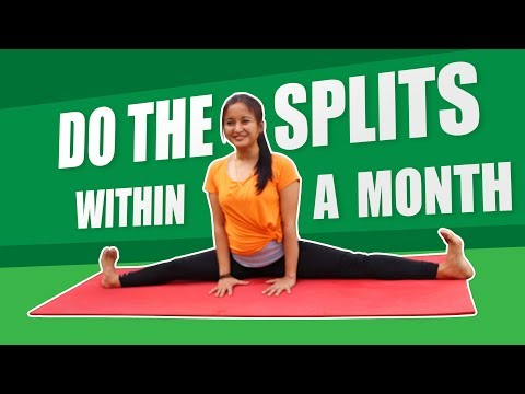 12 Minute Splits Stretch Flexibility Workout For Beginners How To
