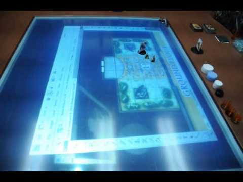 Ultimate RPG Gaming Table YouTube - Digital board game table
