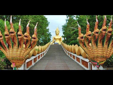 Chùa Wat Phra Yai (giữa hai bờ biển Pattaya và Jomtien) Thailand