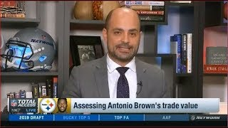 Baixar Assessing Antonio Brown's trade value | NFL Total Access