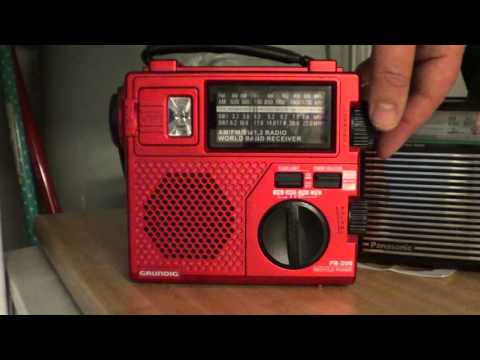 Radio Slovakia on Grundig FR 200 Hand Crank shortwave radio