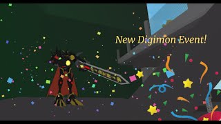 Roblox Digimon Aurity Event- Agumon Black(X Antibody)