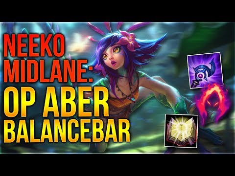 OP aber Balancebar! Neeko Midlane Gameplay [League of Legends] [Deutsch / German]