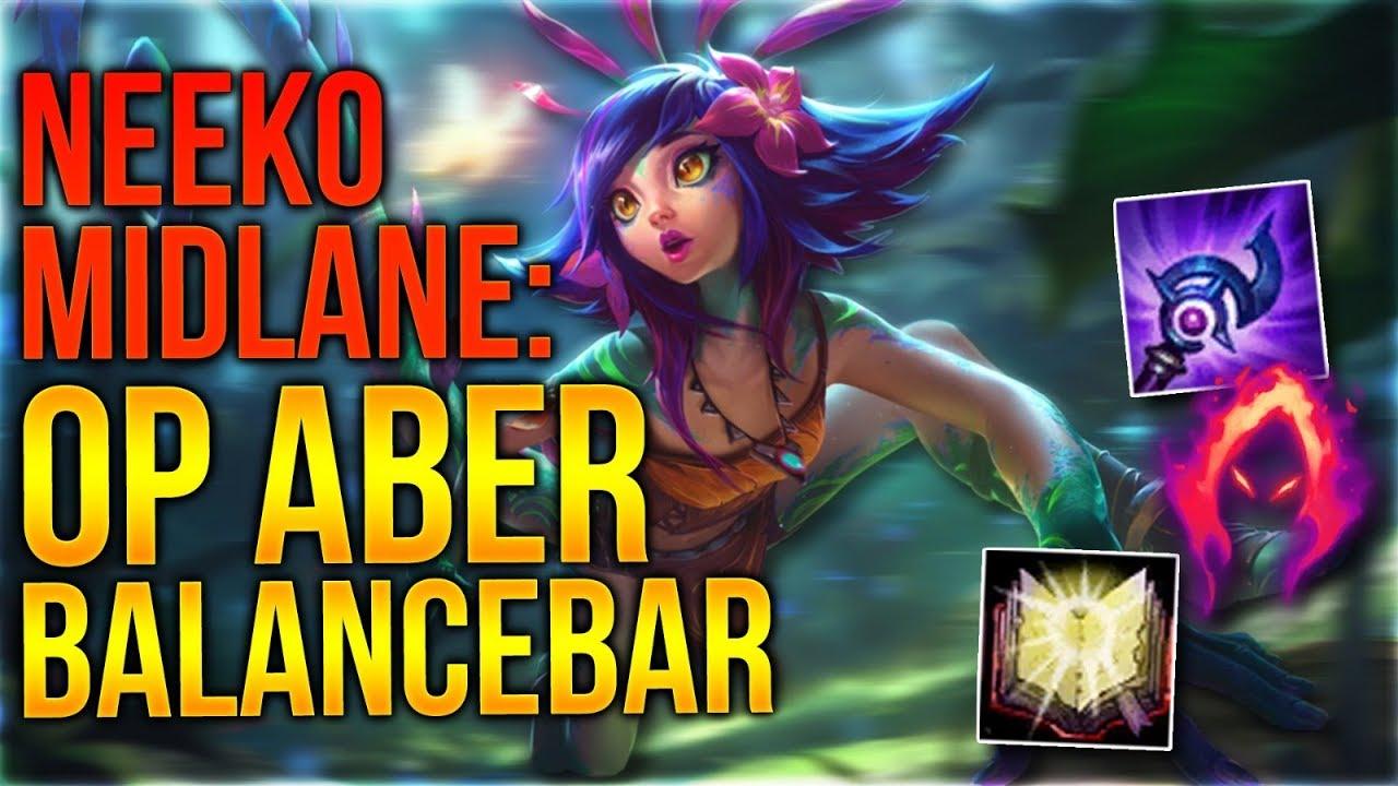 OP aber Balancebar! Neeko Midlane Gameplay [League of Legends] [Deutsch /  German]