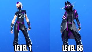 "Livello 55 Sovralimentato ""CATALYST"" Pelle sbloccato! Stagione Di Fortnite X Max Battle Pass Pelle"