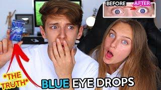 these EYE DROPS make YOUR eyes BLUE!! GeorgeMasonTV