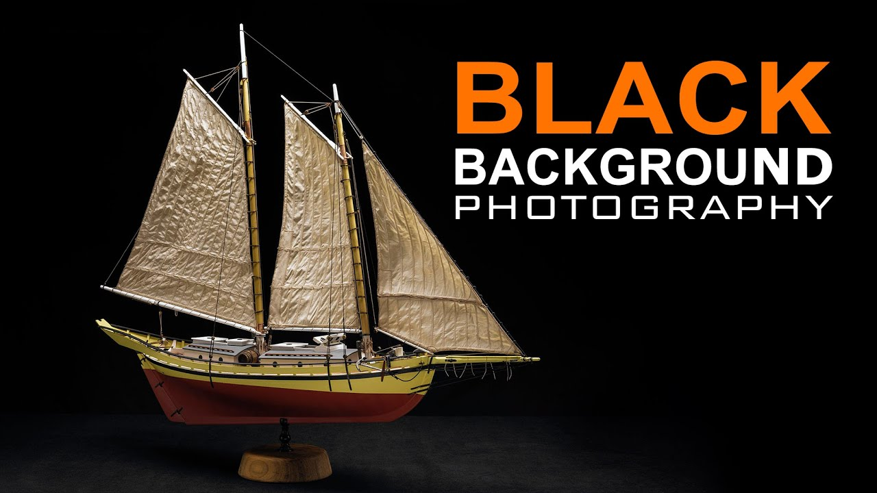 How to make your photos on a black background LOOK BETTER FAST