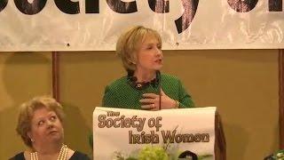 Hillary Clinton hints she