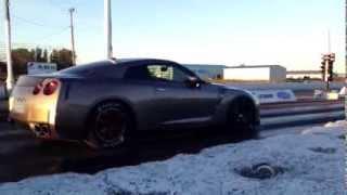 SP Engineering - Nissan GT-R Godzilla Package Launch Test 2