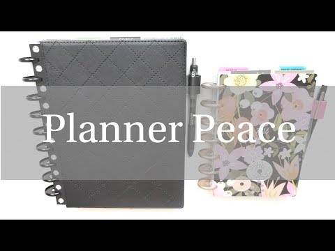 Planner Peace | Classic Goal Getter x Budget Edition x Trendsetter | Mini Seasonal x Fitness