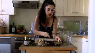 Raw Stuffed Mushrooms - Quick And Easy Raw Food Recipe