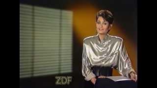 Sibylle Nicolai ZDF Ansage 1988
