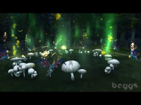 The Mystery of the Whispering Forest Faerie Circle - World of Warcraft