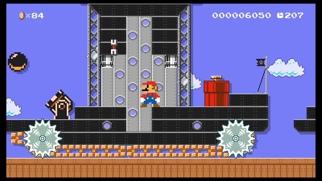 Eric's Super Mario Maker 2 Levels: Bowser Jr's Cantankerous Tanks