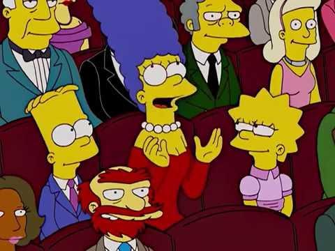 The Simpsons: Concert Hall Scene