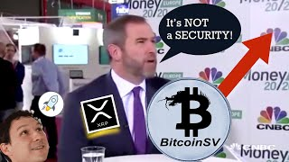 BREAKING NEWS! XRP Security Case (probably) Won't Get Dismissed on 1/15/20. BTC SV Moon? XLM Scandal