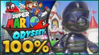 Super Mario Odyssey - Mushroom Kingdom 100% All Moons & Coins! [🔴LIVE]