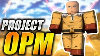 New ONE PUNCH MAN GAME in Roblox | Project OPM | iBeMaine