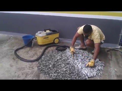 Lavado Alfombra y tapete de casa - YouTube