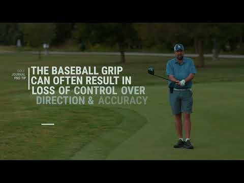 THE GOLF JOURNAL: FUNDAMENTALS OF THE GOLF GRIP