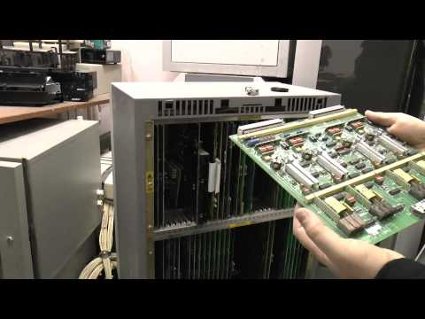 Inside a Siemens (GPT) ISDX Telephone Switch