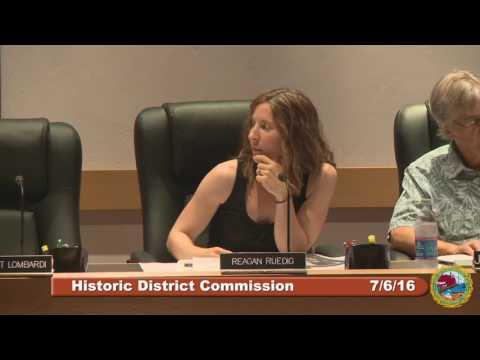 Historic District Commission 7.6.16