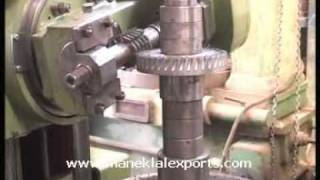 Manek - Gear Hobbing Machine Model: GHB-750