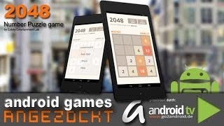 2048 - android games ANGEZOCKT [GER]