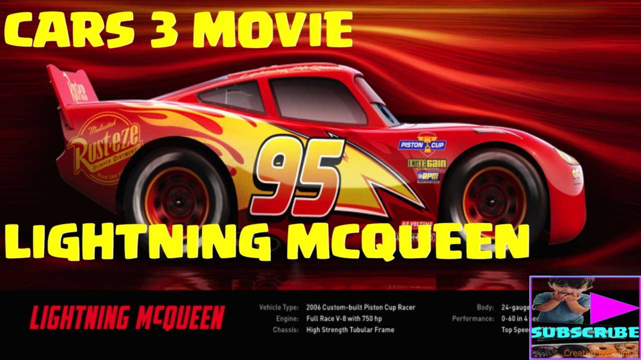 disney pixar 39 s cars 3 movie lightning mcqueen sneak peak. Black Bedroom Furniture Sets. Home Design Ideas