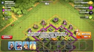 Clash of Clans #001 :: Einer der dümmste Angriffe :: Let's Play COC