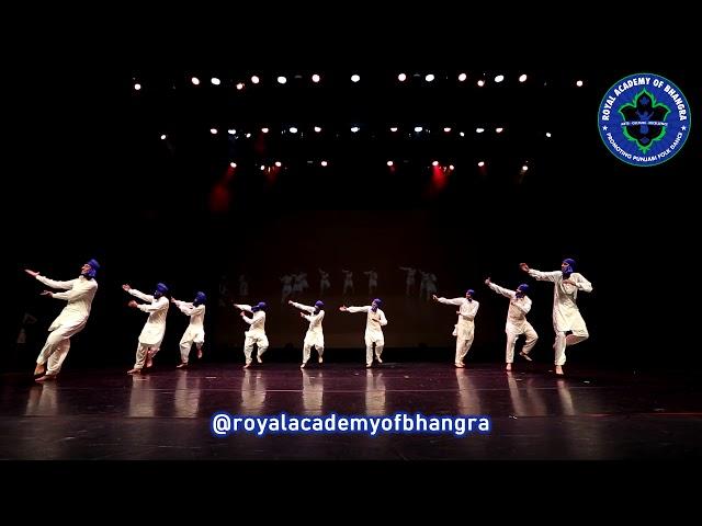 Jhoomer | Ft| Royal Academy of Bhangra | colours of punjab | 2019
