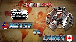 vuclip Artsy VS Larry ★ Daily Beatbox Battle ★ 27.11.2015