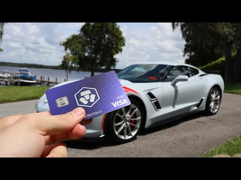 BUYING MY DREAM CAR WITH CRYPTO.COM VISA CARD!!