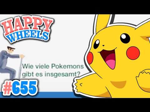 wie viele pokemon gibt es insgesamt happy wheels 655 youtube. Black Bedroom Furniture Sets. Home Design Ideas