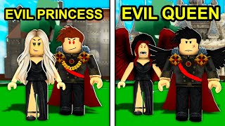 Evil PRINCESS To Evil QUEEN In Roblox Brookhaven..