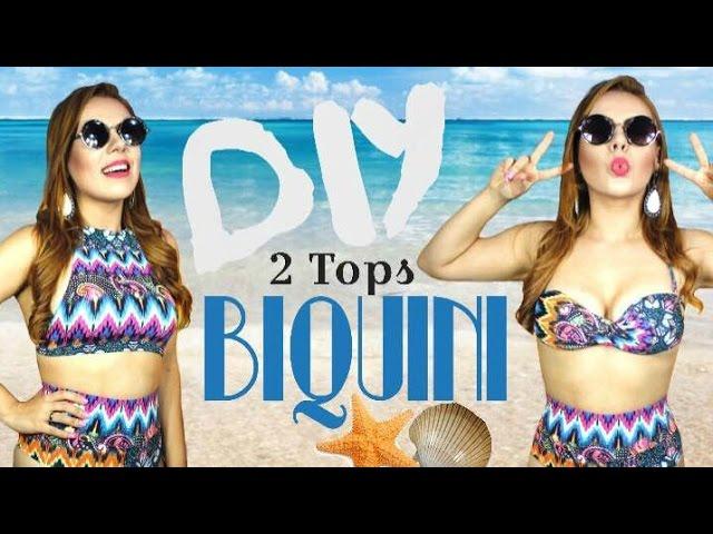 fc4511f43 DIY BIQUINI COM LEGGING - 2 TOPS Download video - get video youtube