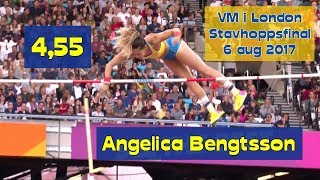 Angelica Bengtsson 4,55 - stavfinal - VM i London - tia - 6 aug 2017