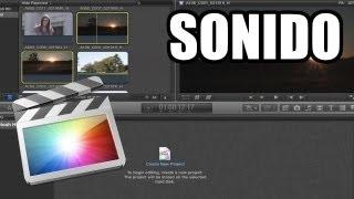 Final Cut Pro X - #6: Edición de sonido
