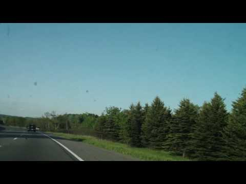 Highway 401 to Gananoque Canada