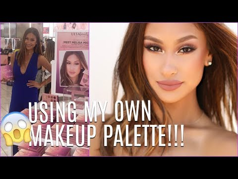 GET READY USING MY OWN MAKEUP PALETTE? 😱