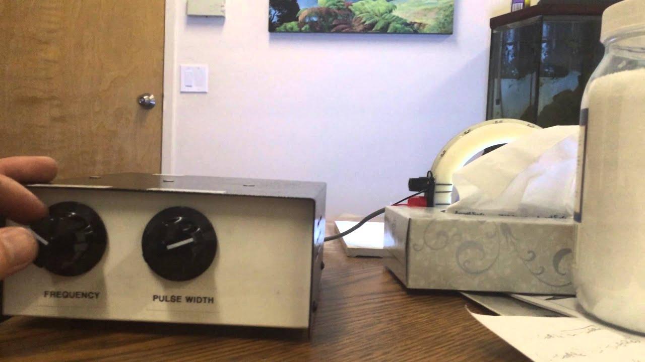 Strobe Circuit For 12v Leds Youtube Solid State 555 Ic Stroboscope