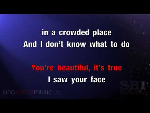 You're Beautiful   Karaoke HD In the style of James Blunt