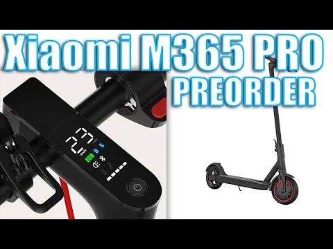 Xiaomi M365 PRO ⚡🛴 Upgraded version Preorder 🎤 Talk is Cheap 👍🍕🍻